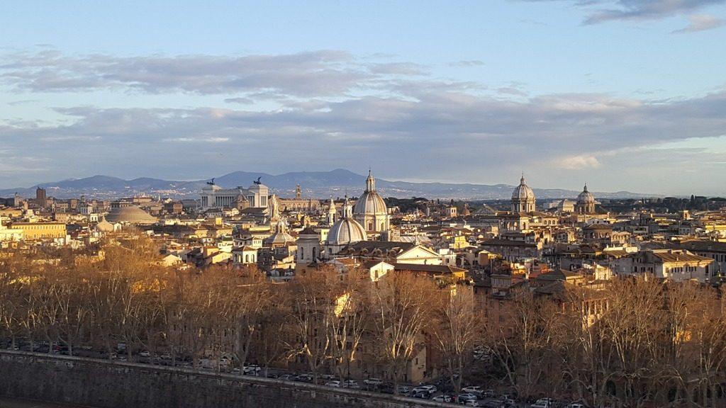 Панорама города Рим
