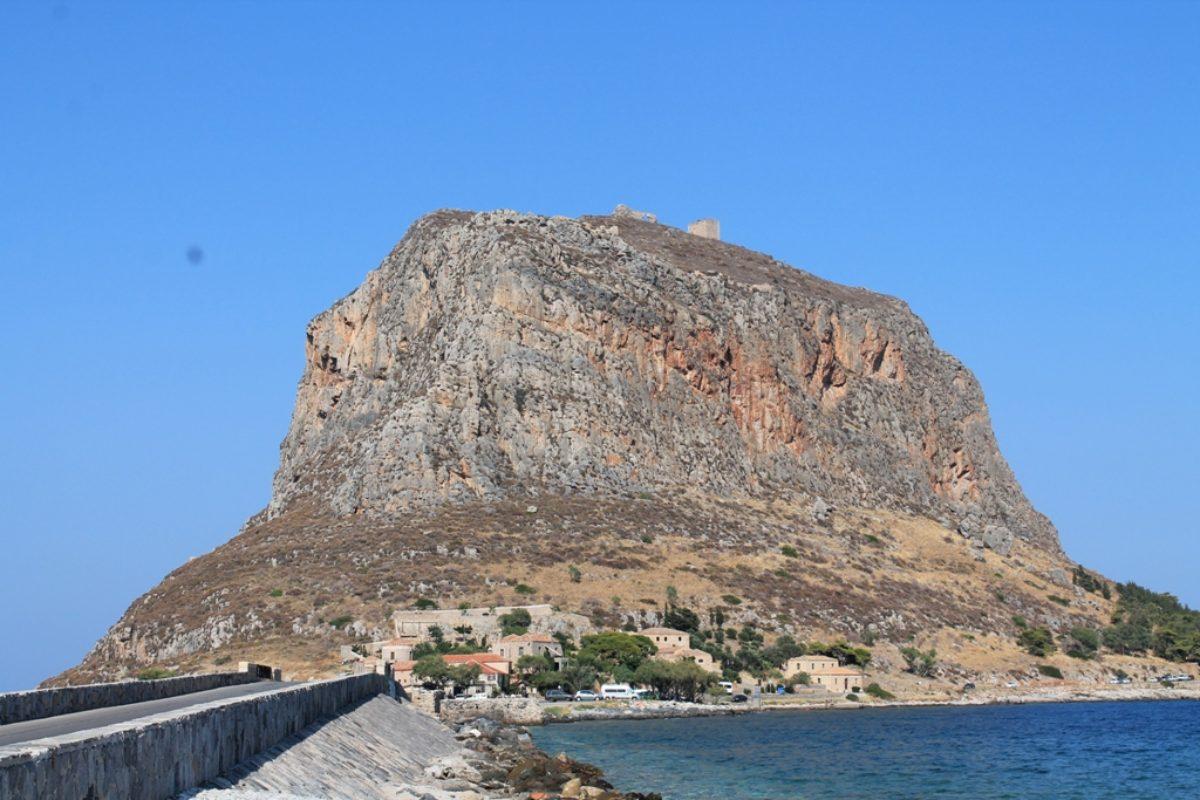 Город-крепость Монемвасия