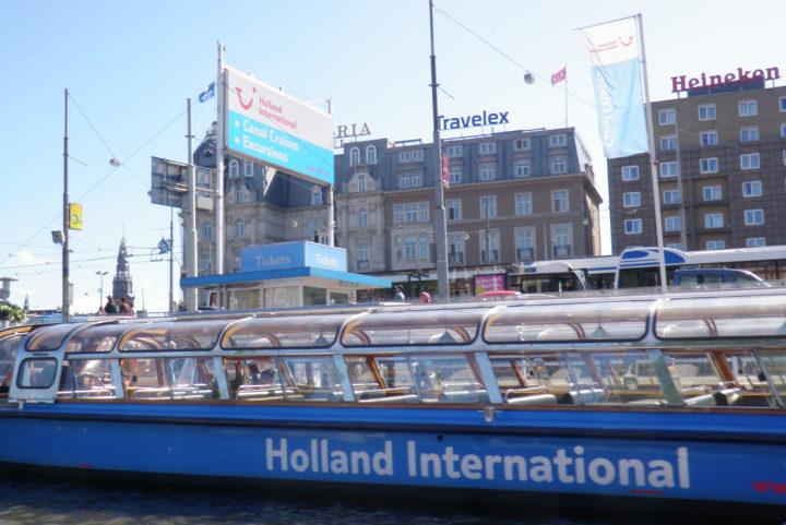 Амстердам. Экскурсия по каналам, как первое знакомство с городом.