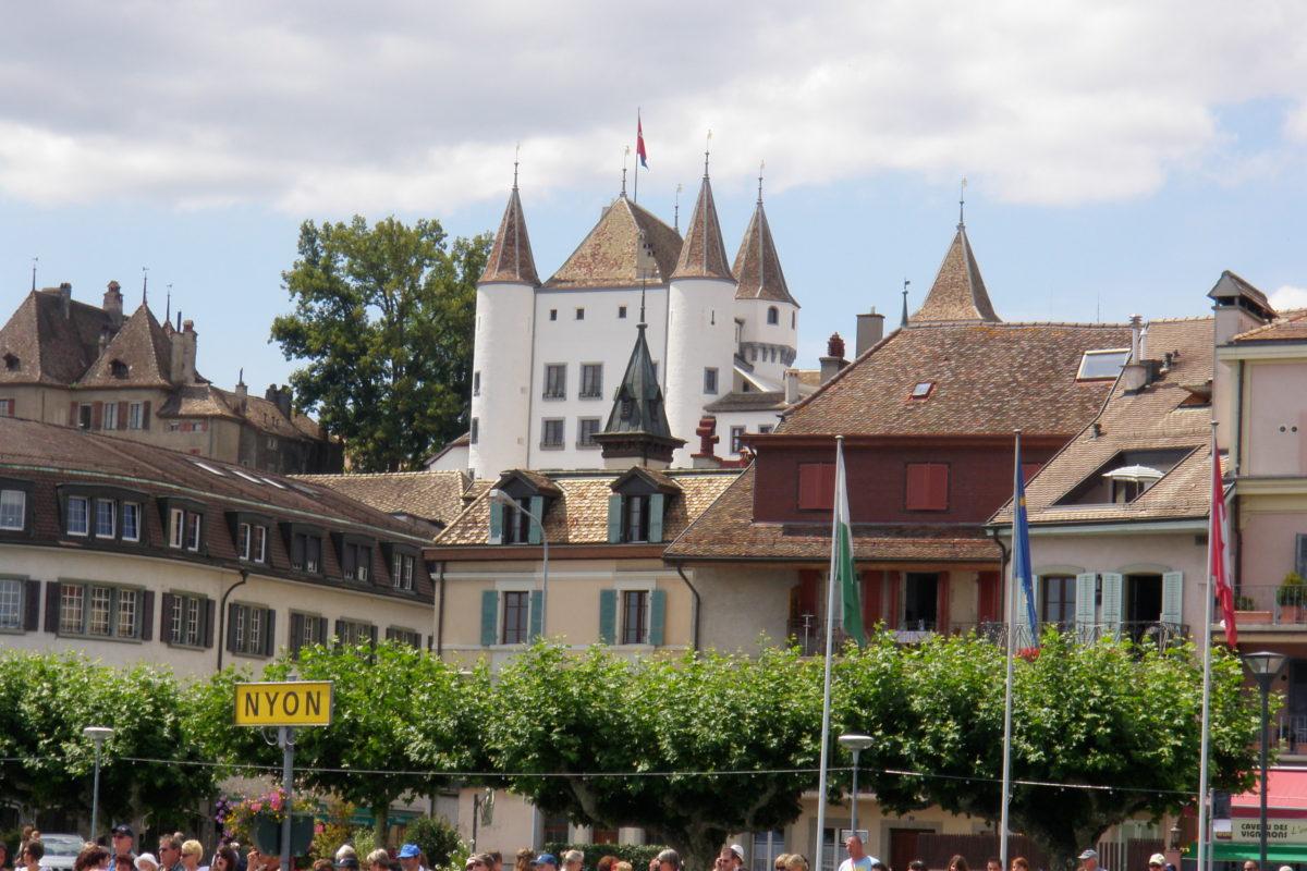 Поездка в город Ньон