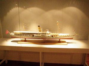 Модель парохода фото