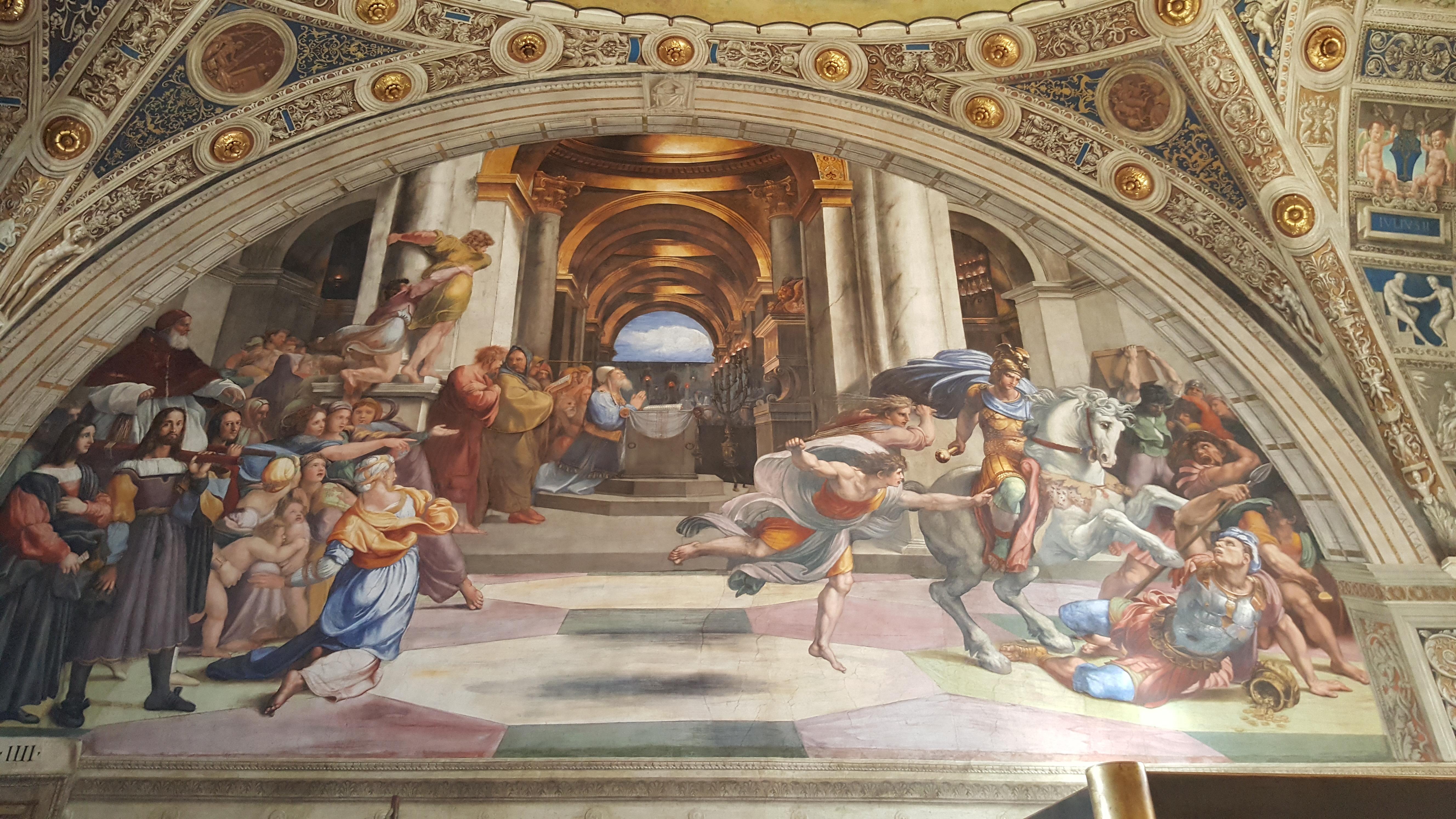 Фреска работы Рафаэля