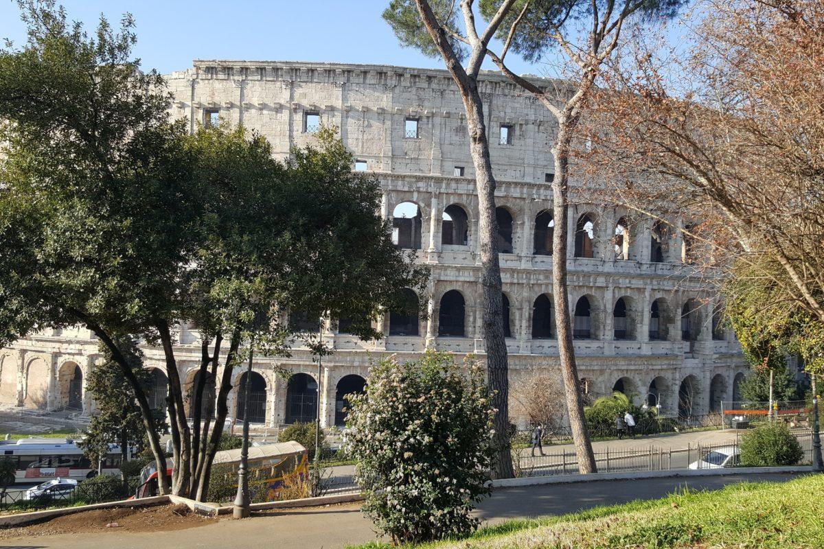 Первая поездка в Рим