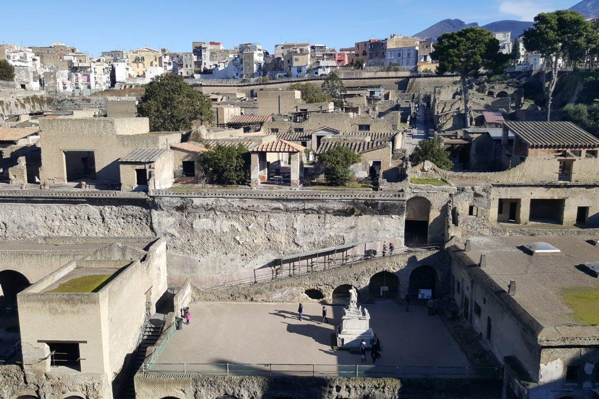 Древний город Геркуланиум