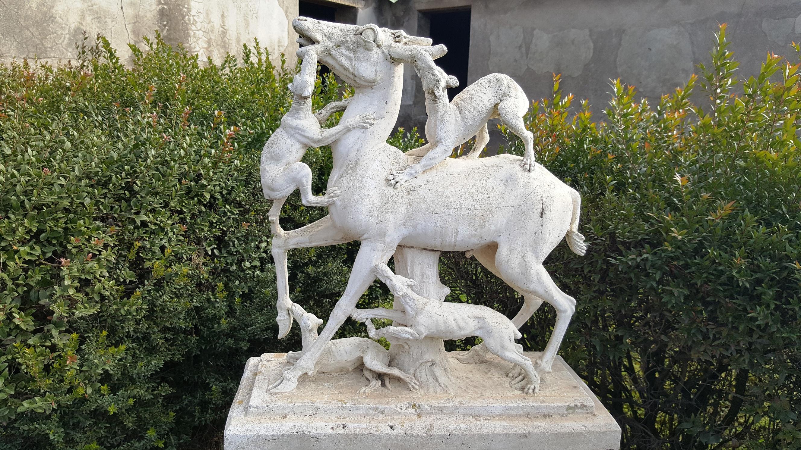 Сохранившаяся скульптура