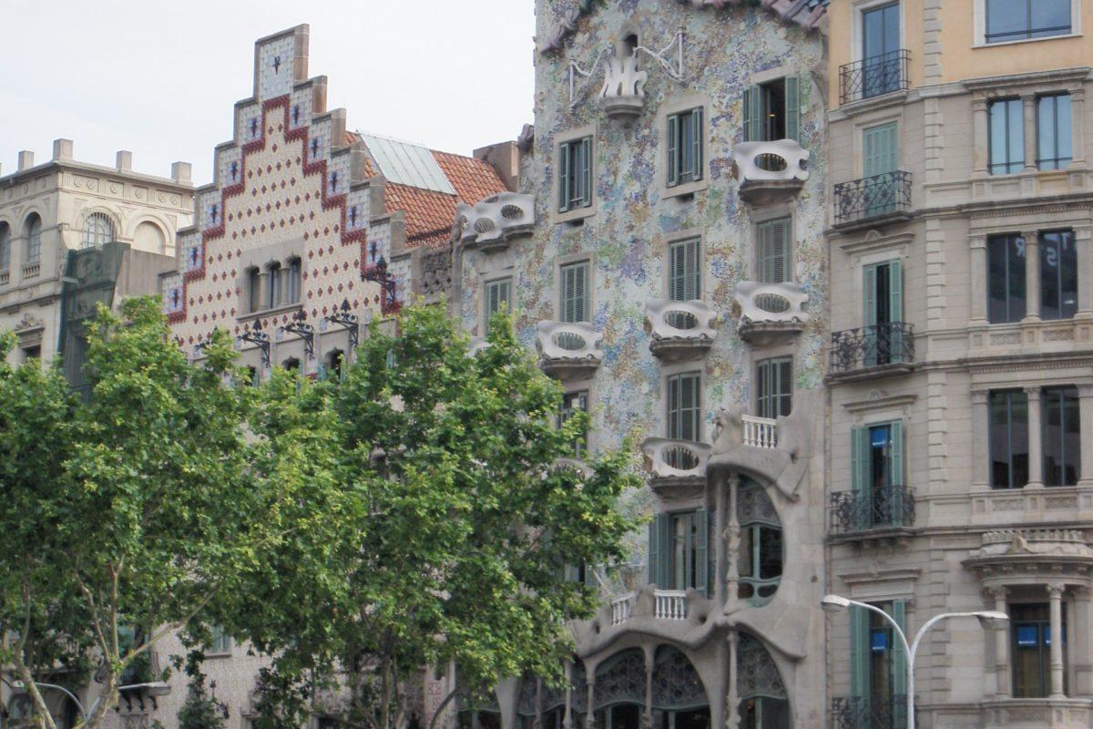 Дом Батльо в Барселоне