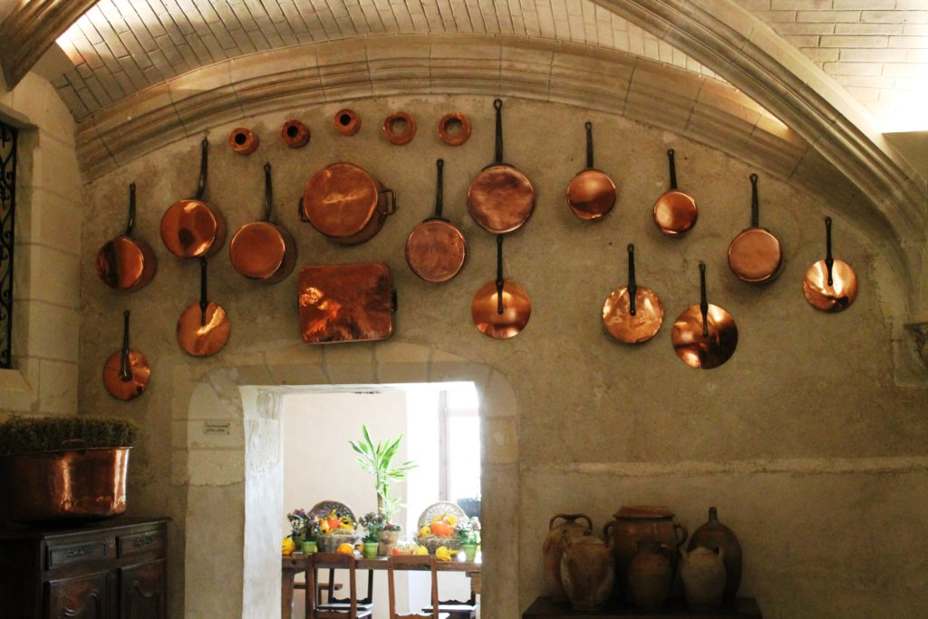 Кухня в замке Шенонсо