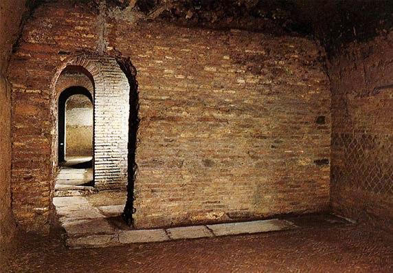 Римский дом из туфа
