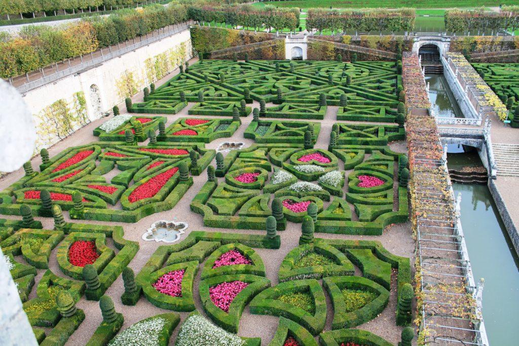 Сад любви в замке Вилландри