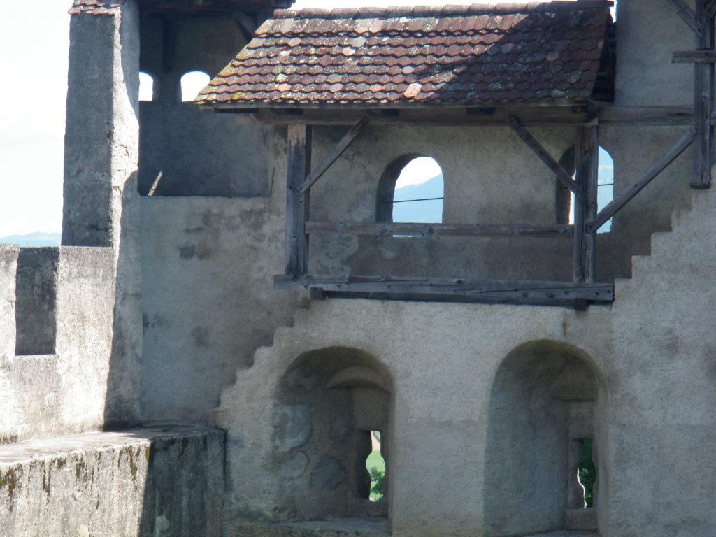 Галерея в замке Грюйер