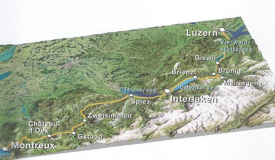 Золотой перевал в Швейцарии
