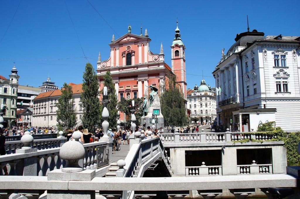 Любляна. Старый город.