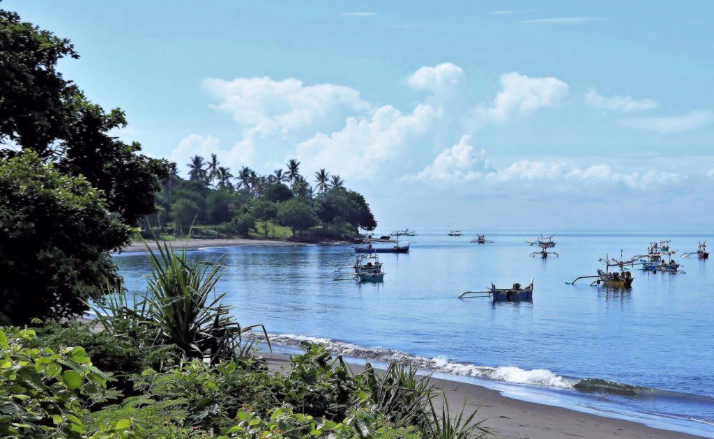 Остров Бали. Пляж