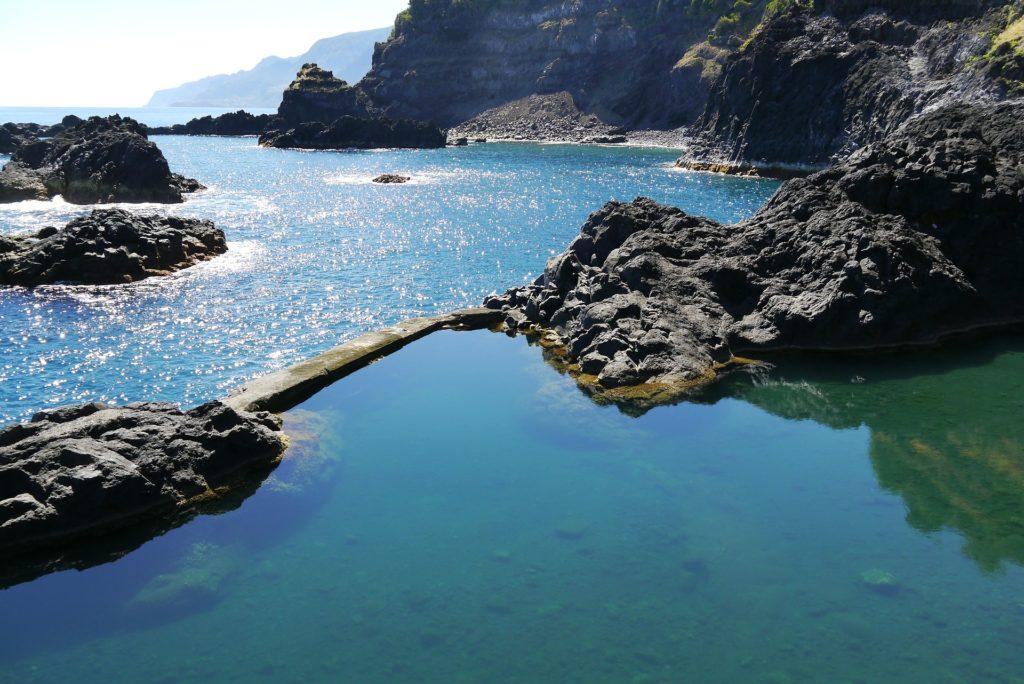 Природный бассейн на Мадейре