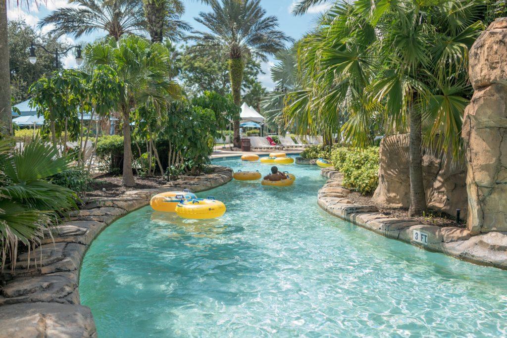 Водный парк во Флориде.