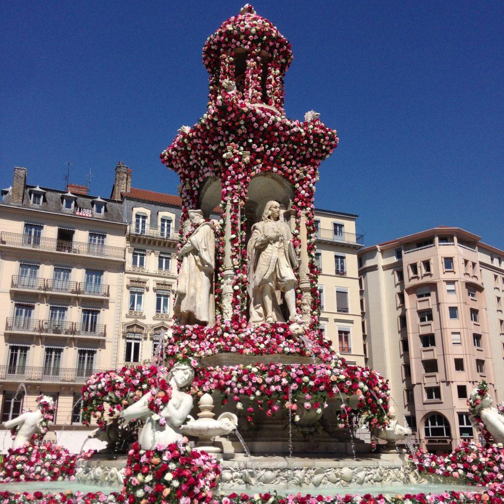 Фестиваль роз в Лионе