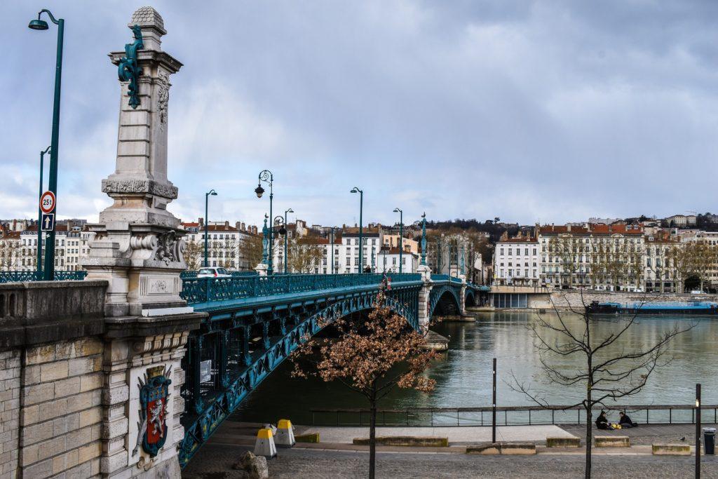 Лион. Мосты и реки.