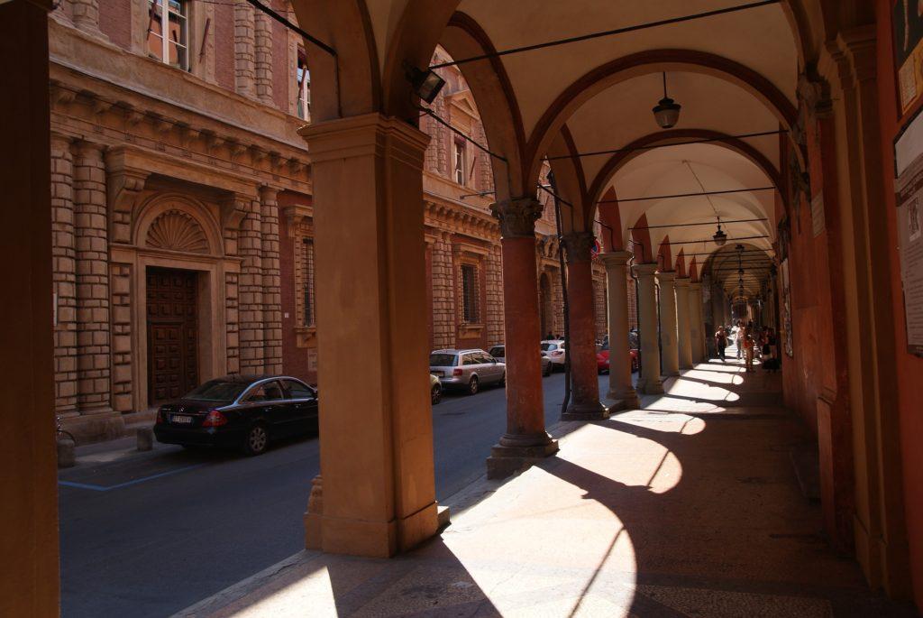 Аркады в Болонье