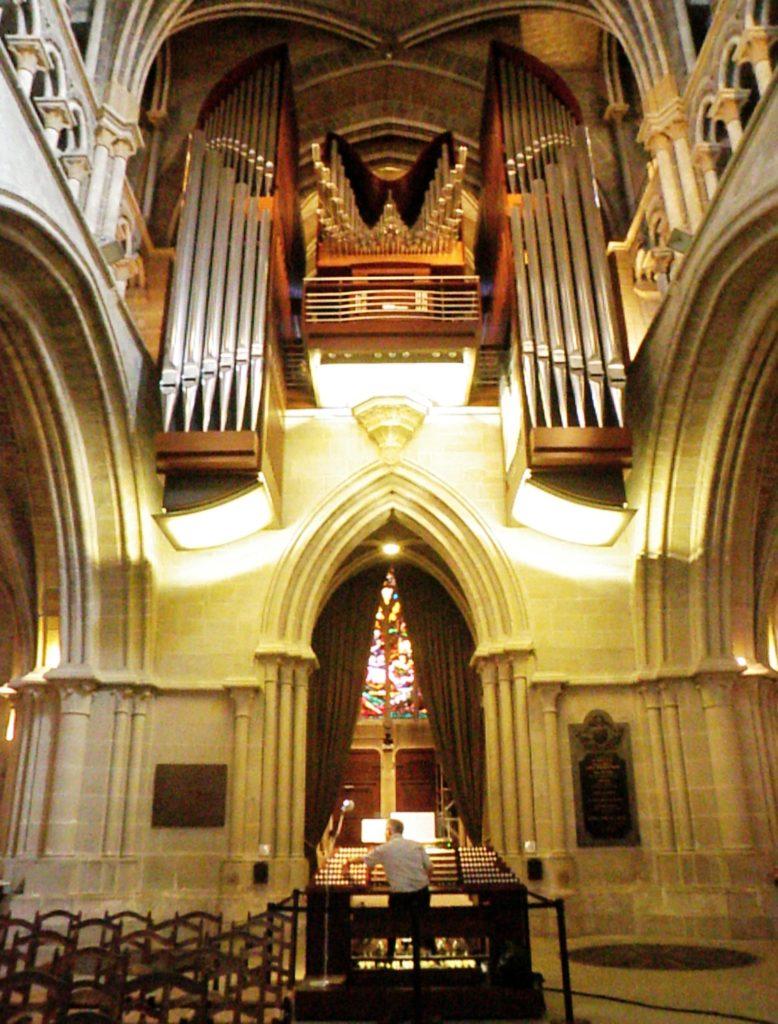 Орган в Кафедральном Соборе Лозанны