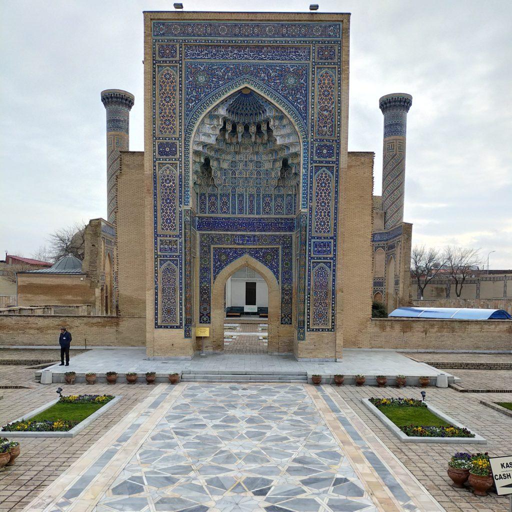 Вход в мавзолей Гур-Эмир