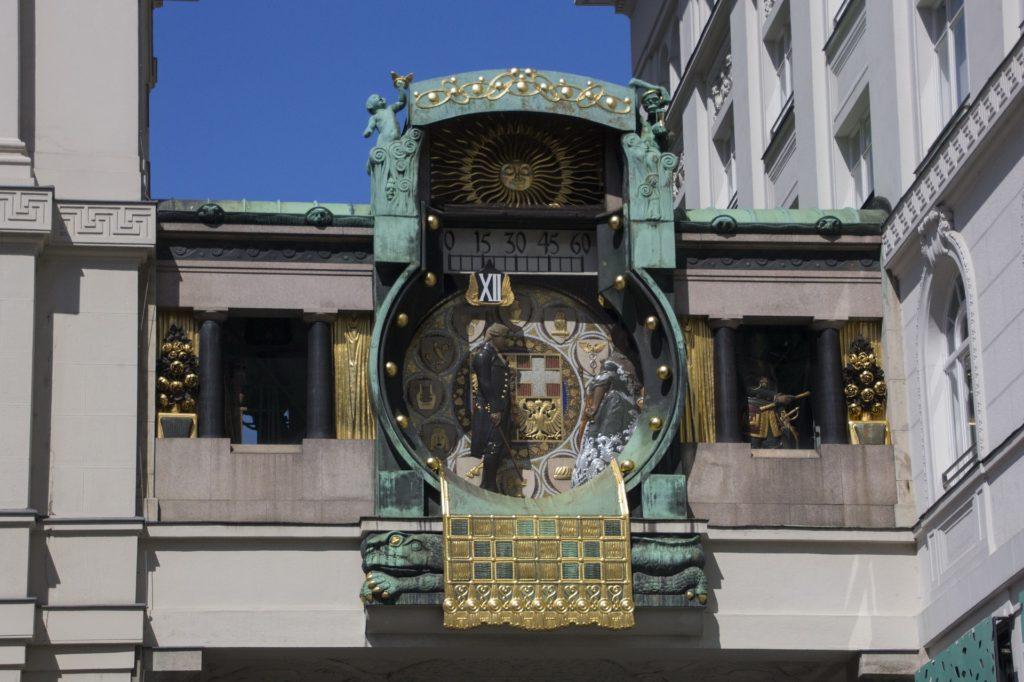 Анкерные часы в Вене