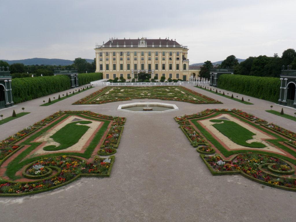 Дворец Шенбрунн. Тайный сад.