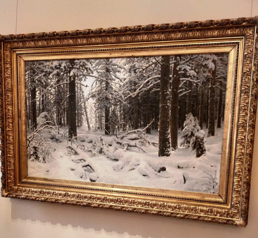 И.И.Шишкин. Зима