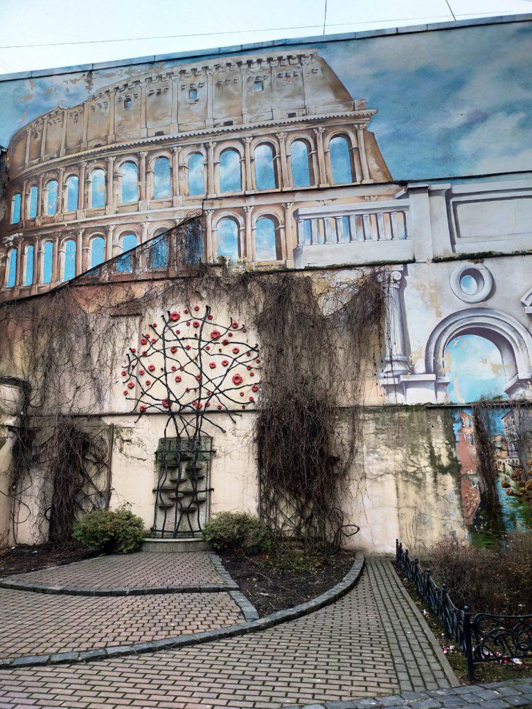 Итальянский дворик в Питере