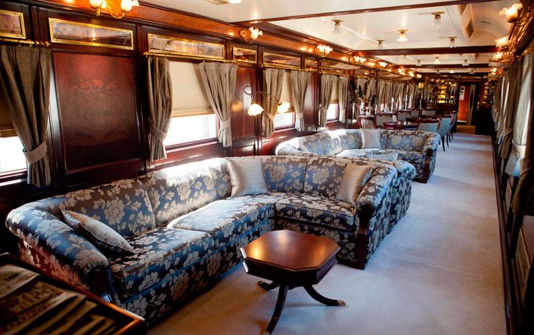 Лаундж в поезде Аль Андалус