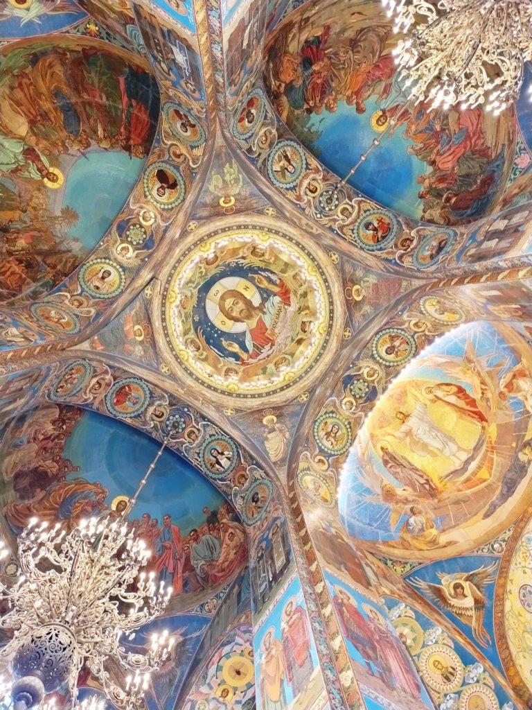 Мозаика в храме Спас на Крови
