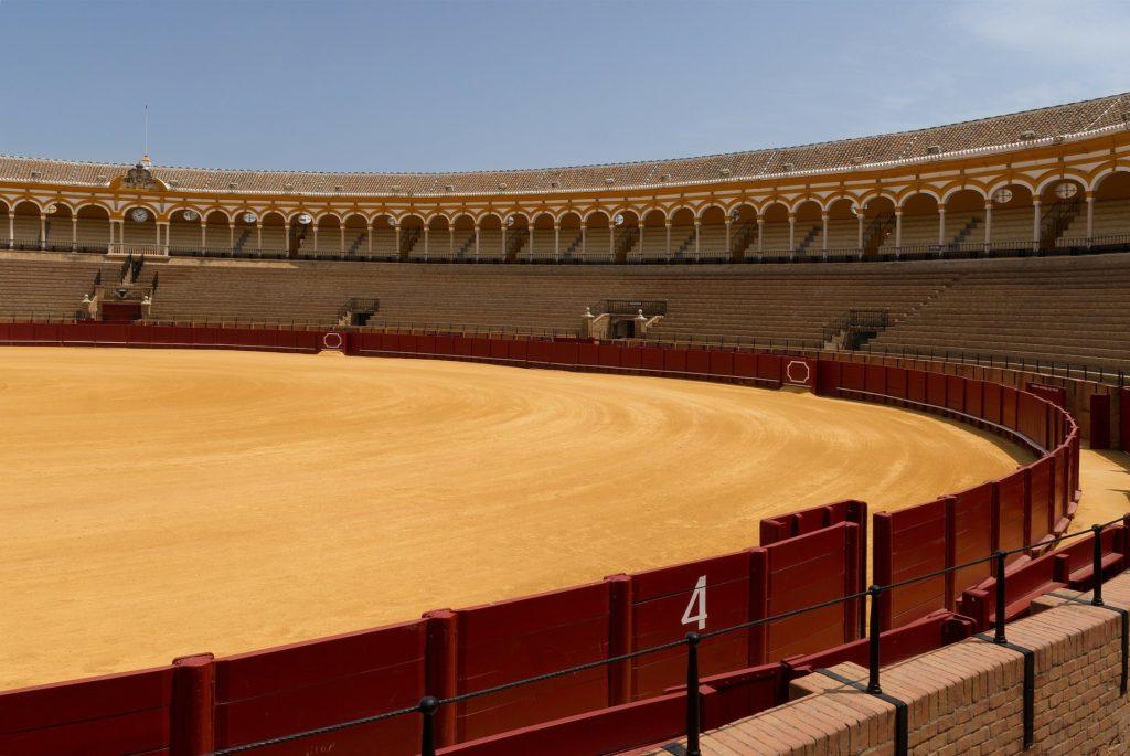 Арена для боя быков в Севилье
