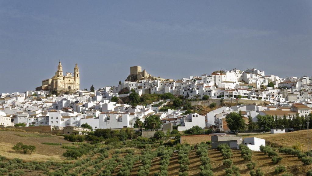 Белая деревня Андалусии Олвера
