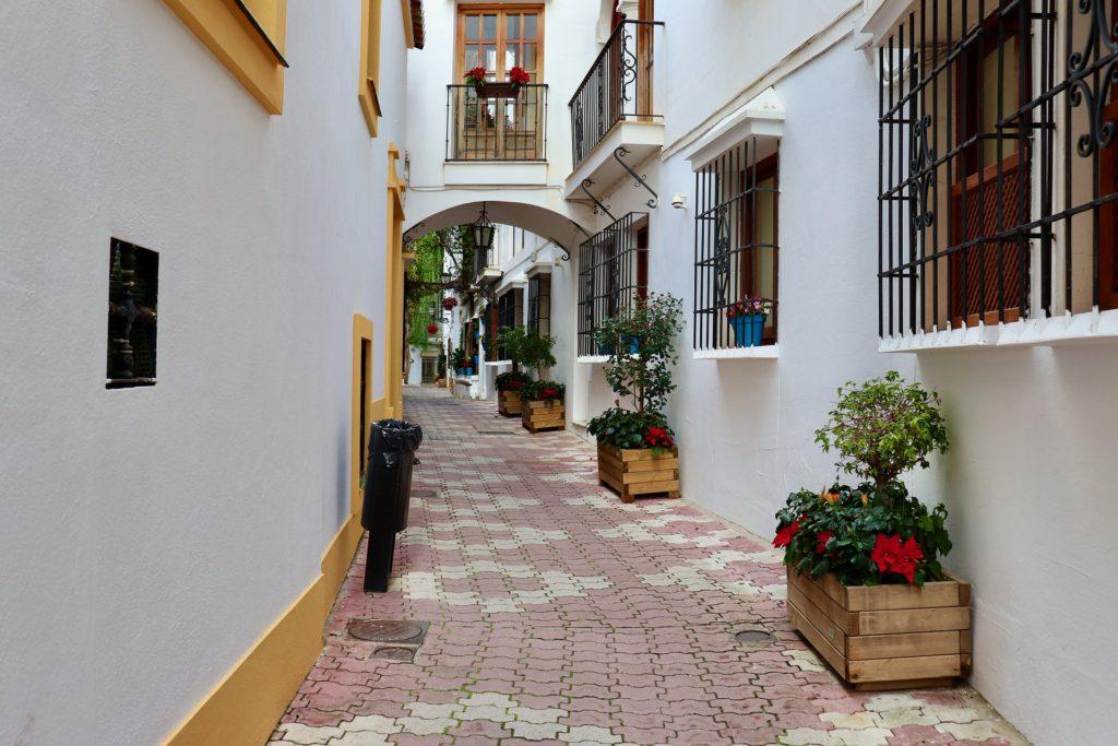 Малага. Улочка старого города.