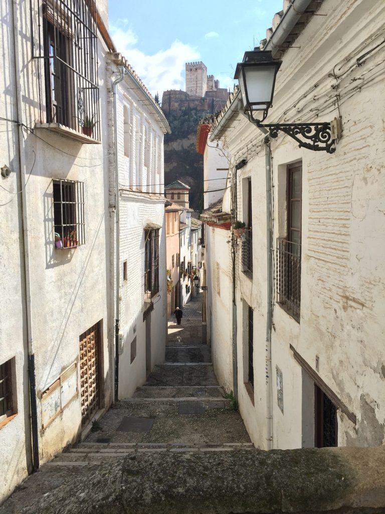 Улочка в квартале Альбайсин