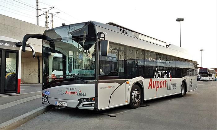 Автобусы Vienna Airport Lines