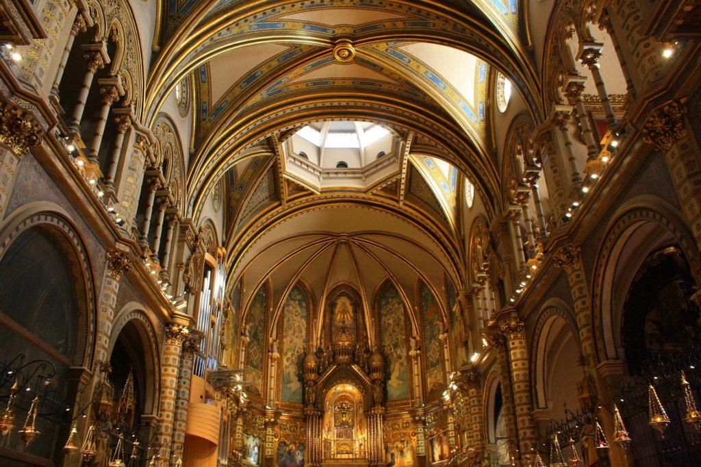 Базилика в монастыре Монтсеррат