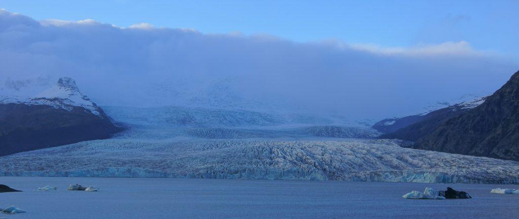 Ледник Ватнайокудль в Исландии