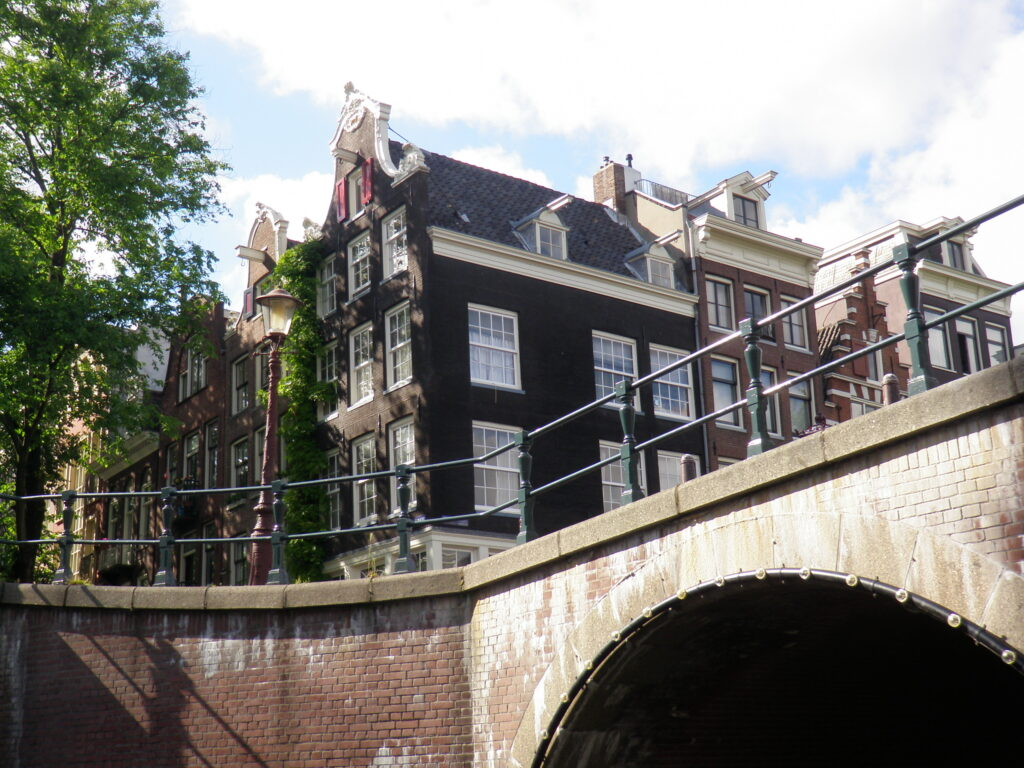 Амстердам. Старый город.