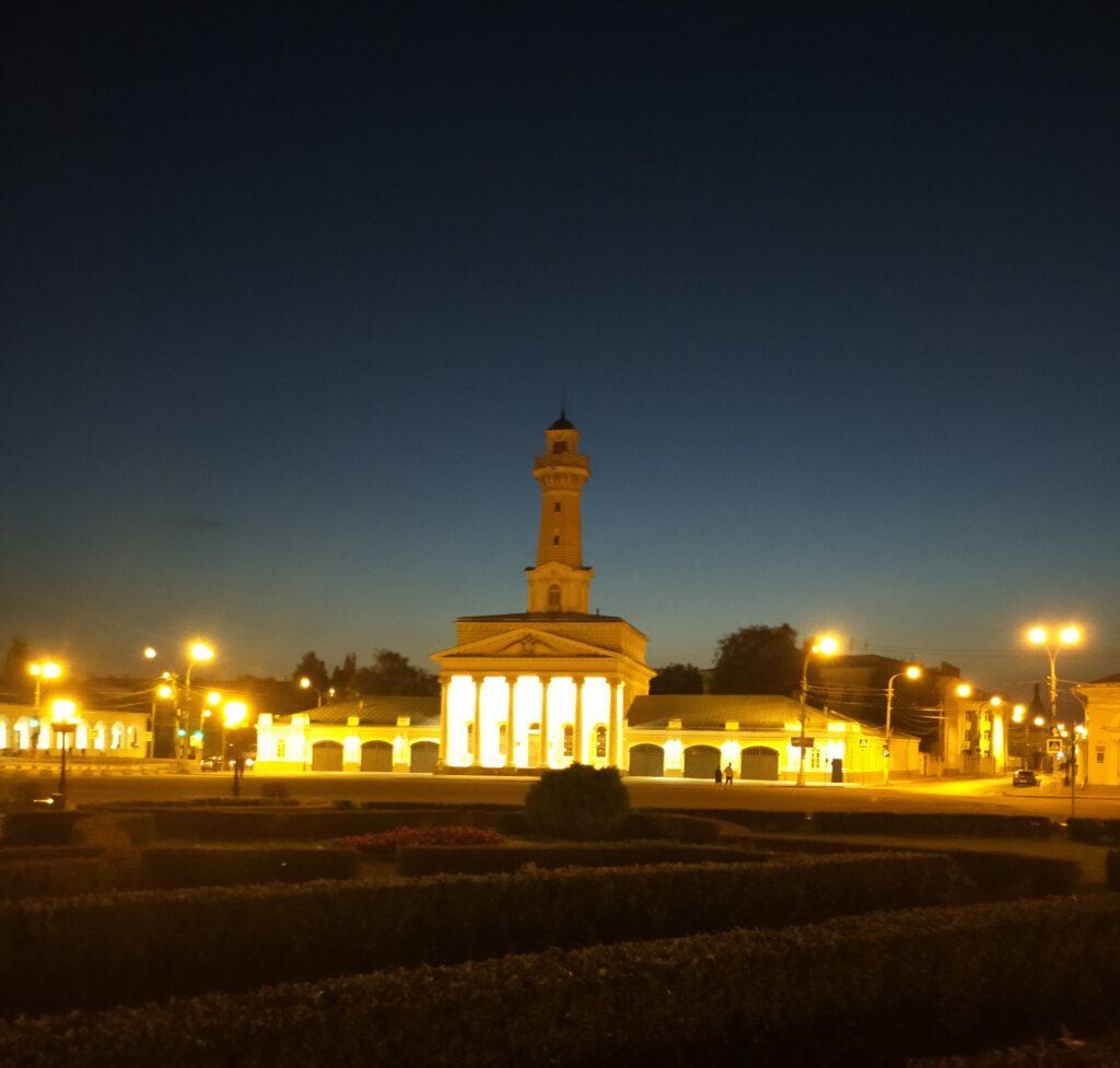 Кострома вечерняя