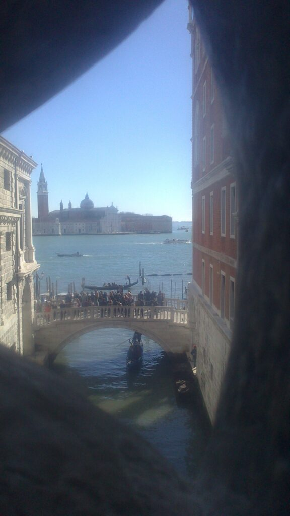 Вид с моста вздохов