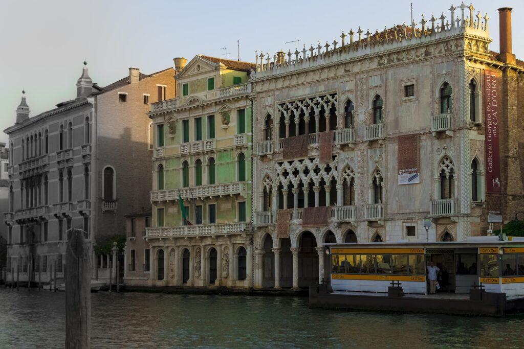 Золотой дворец в Венеции