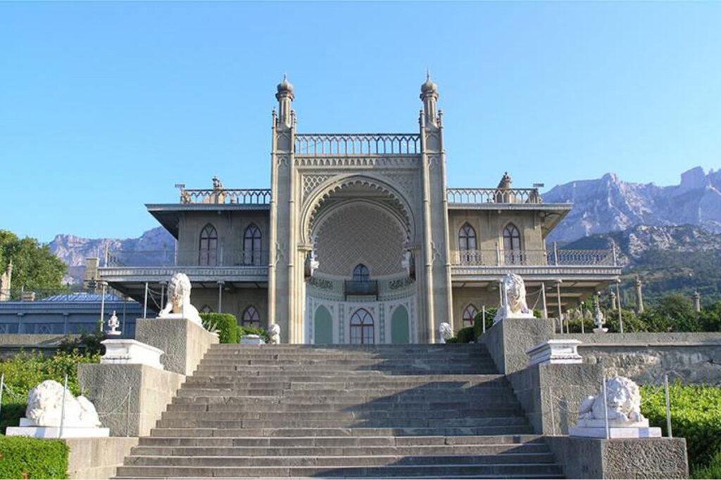 Лестница в Воронцовском дворце